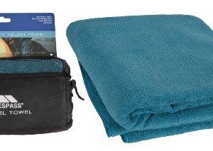 Trespass 70 x 135 Wringin cm - Toalla deportivas para natación, color azul, talla 70 x 135 cm 2