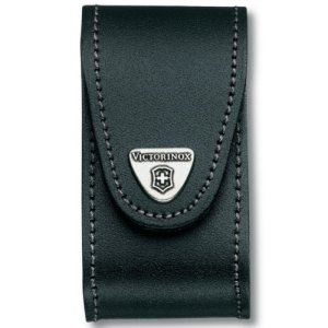 Victorinox - Black Leather Belt Pouch (5-8 Layer 4