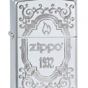 Zippo 2.002.913 1932 Collection 2013 - Mechero cromado (acabado muy brillante) 4