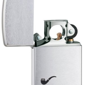 Zippo Pipe Lighter Brushed Chrome - Mechero, color cromo cepillado 6
