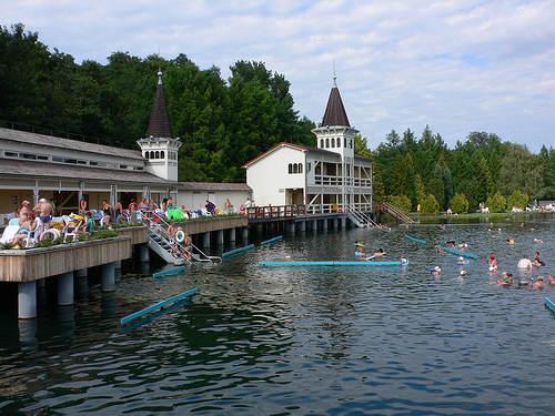 Lago Hévíz: Lago termal más grande de Europa