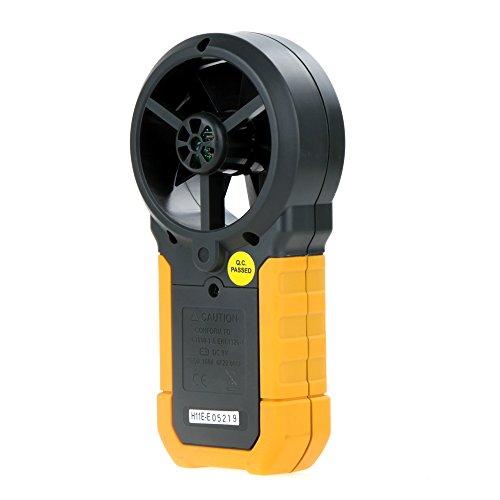 Andoer HYelec MS6252B Anemómetro digital multifuncional Volumen de Aire, Temperatura y la Humedad 1