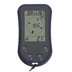 BW 6-en 1 Brújula Altímetro Barómetro Termómetro Digital previsión meteorológica reloj 9