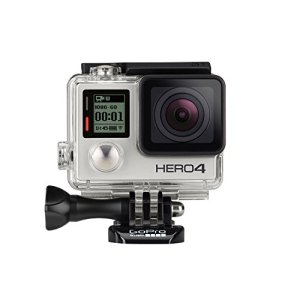 GoPro HERO4 Silver Edition Adventure - Videocámara deportiva (12 Mp, Wi-Fi, Bluetooth, sumergible hasta 40 m) 4