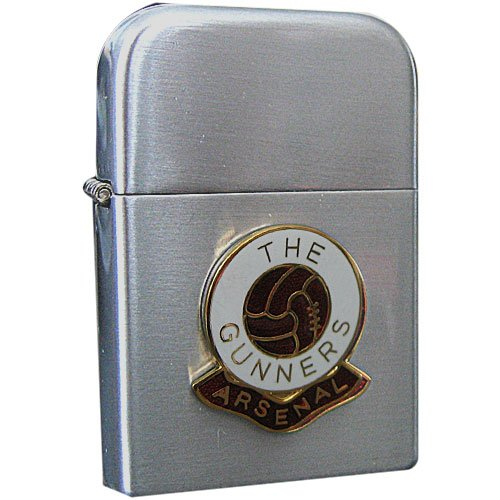 Football Club Lighters-Arsenal Football Club Petrol Storm Proof Lighter 1