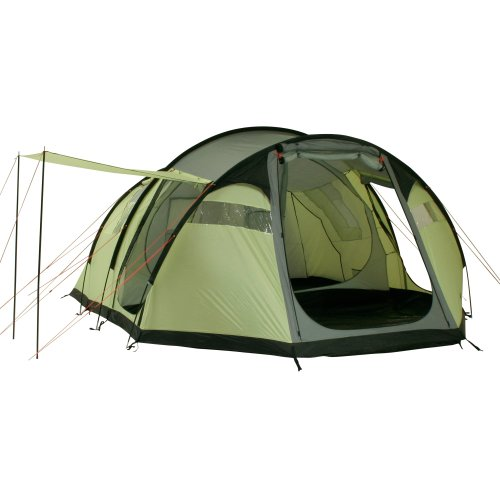 10T Outdoor Equipment Wilton 6 - Tienda tipo túnel para 6 personas, color verde y gris 8