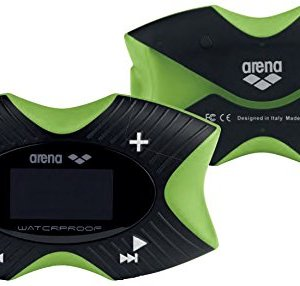 Arena Swimming Waterproof MP3 Pro Player, Lime 4