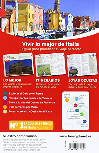 Lonely Planet Lo Mejor de Italia (Travel Guide) (Spanish Edition) 1