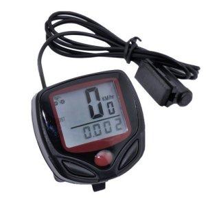 Velocímetro LCD Bicicletas Cuentakilómetros Digital NR Impermeable 5