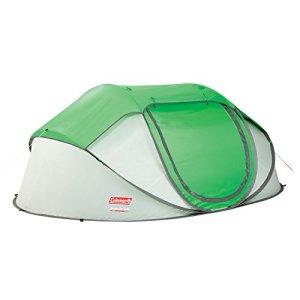 Coleman Galiano - Tienda instantánea (280 x 200 x 100 cm, 3.3 kg, 4 plazas), color verde y blanco 8