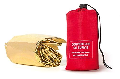 Frendo Couverture de Survie - Manta de supervivencia, color plata / oro 2