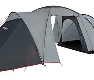High Peak Zelt Como 6 - Tiendas de campaña de túnel, color gris, talla standard 7
