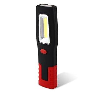 SNAN Linterna de trabajo / Luz de trabajo / 3W COB - Colgante con Gancho y Base con imán 9
