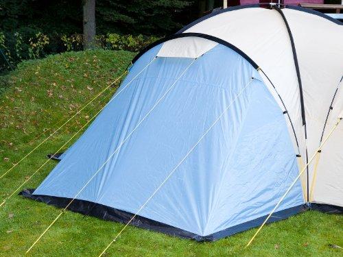 Skandika Toronto 8 - Tienda de campaña, color azul / beige, talla 590 x 590 cm 1