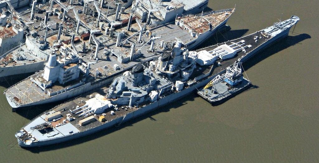 Barcos fantasma de la National Defense Reserve Fleet