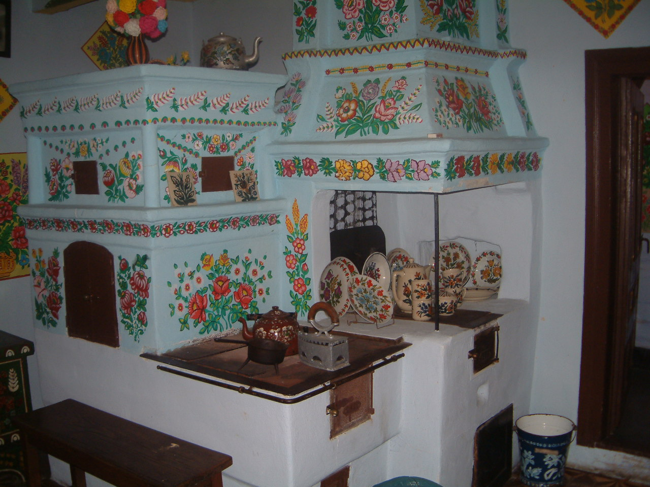 Zalipie interior