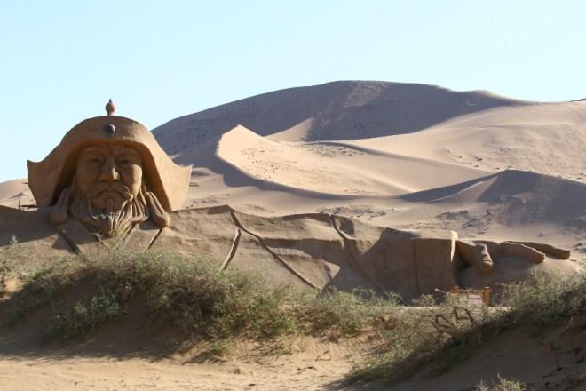 Los misteriosos lagos del desierto de Badain Jaran