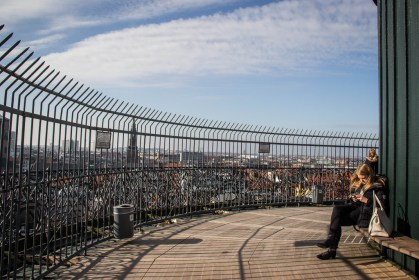 On top of the Round Tower