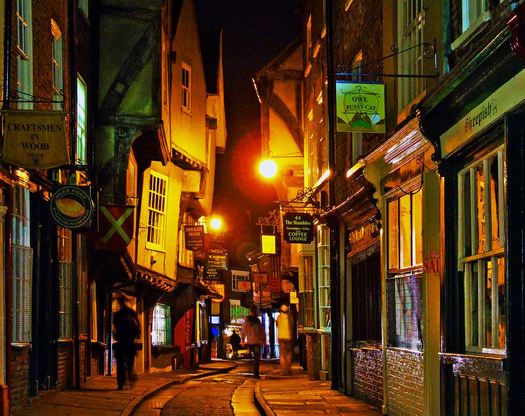The Shambles, York: la calle más medieval de Inglaterra