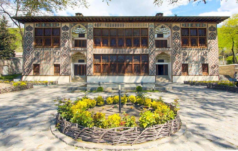Palacio de los Kanes de Şəki