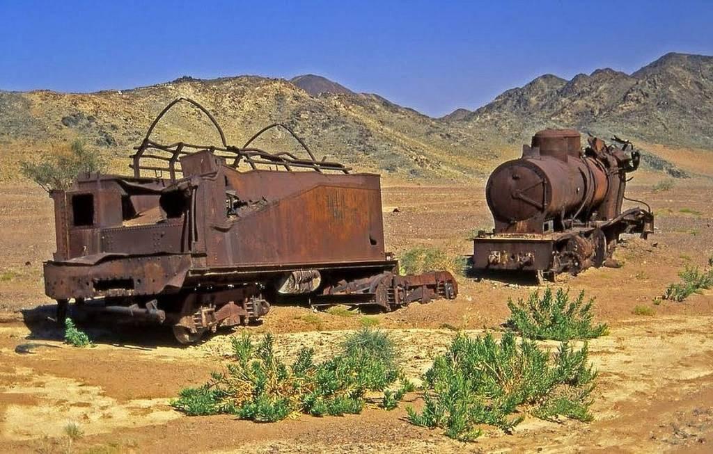 El abandonado Ferrocarril del Hiyaz en Arabia Saudita