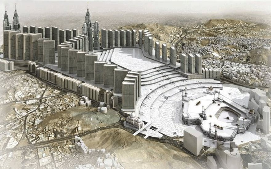 Holy Mosque expansion