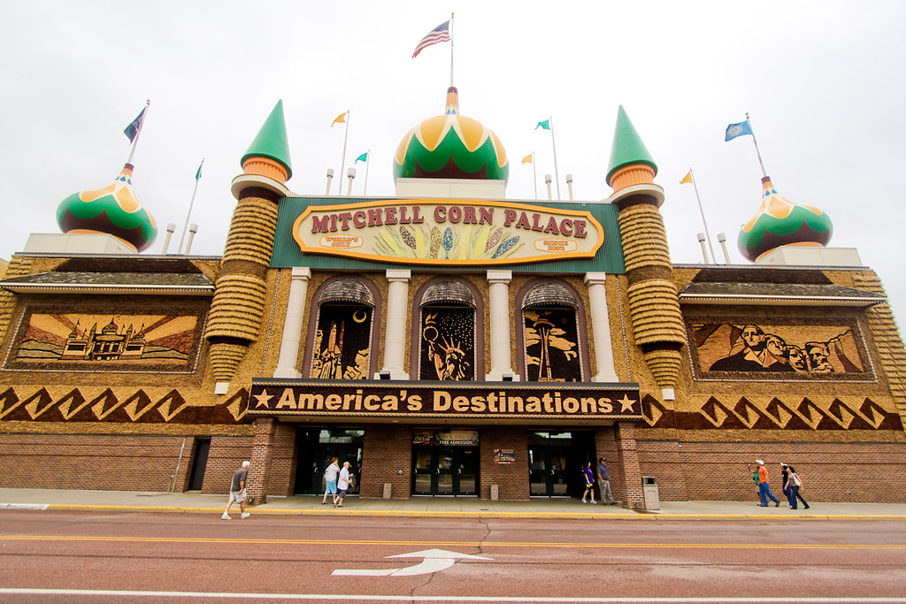 Corn Palace en Mitchell Dakota del sur