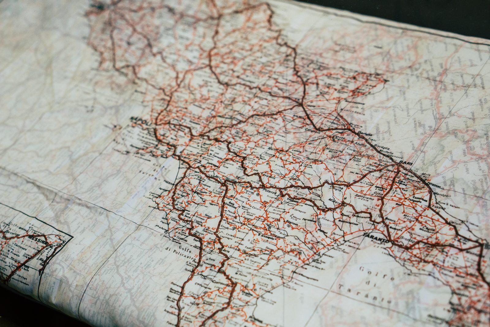 Interpretar un mapa topográfico