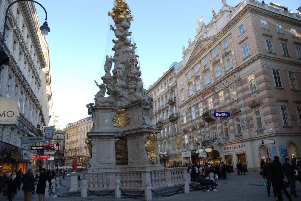 Pestsäule: Recordando las epidemias con las columnas de la peste, Viena, Austria 1