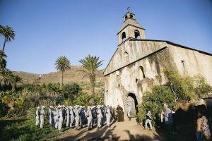 Rodaje de Los últimos de Filipinas en Gran Canaria