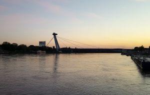 El Danubio en Bratislava