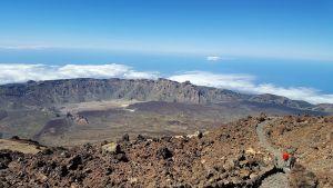 Sendero en la cima de El Teide