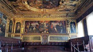 Interior del Palacio Ducal de Venecia