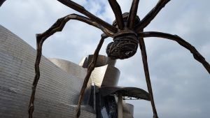 Escultura Mamá Museo Guggenheim Bilbao