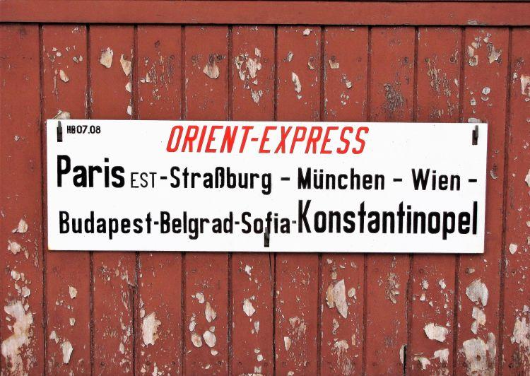 Recorrido del Orient Express