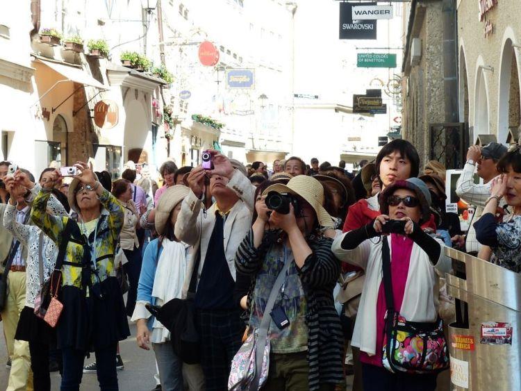 Viajar en grupos organizados