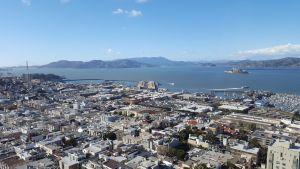 Vistas de San Francisco desde Coit Tower