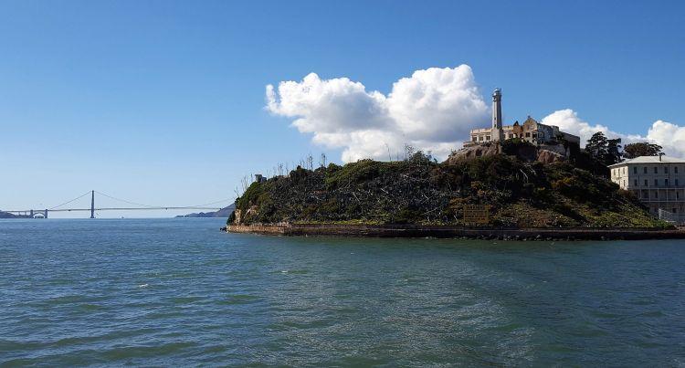 Alcatraz y Puente Golden Gate