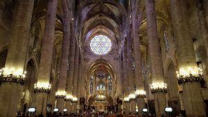 Palma de Mallorca Catedral interior