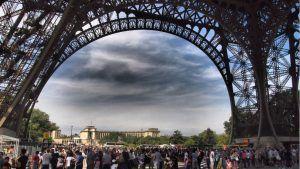 Turismo en la Torre Eiffel