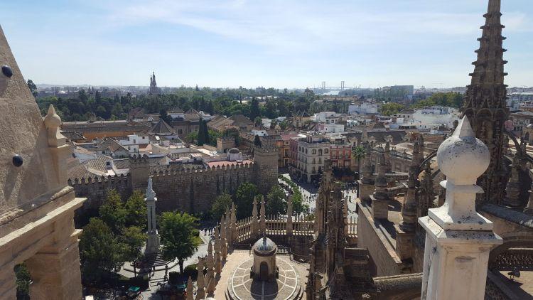 Sevilla desde la Catedral