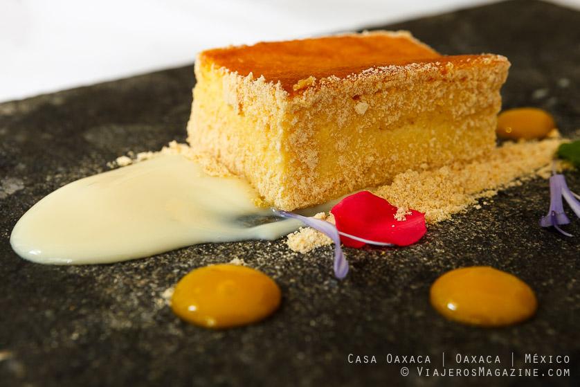 Pastel de elote | Casa Oaxaca