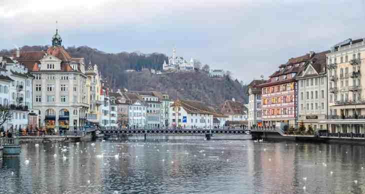 Lucerna y el romanticismo suizo
