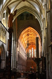 Interior Southwark Cathedral Londres