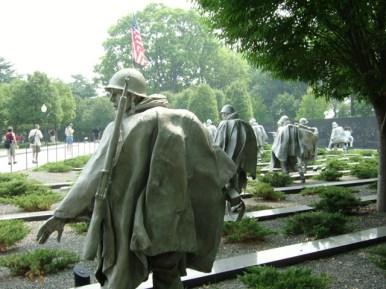 Monumento veteranos Guerra Korea Washington