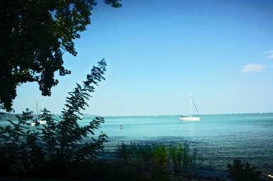 Barco de vela Lago Balaton