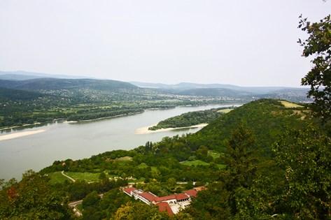 Recodo Danubio Visegrád Hungría