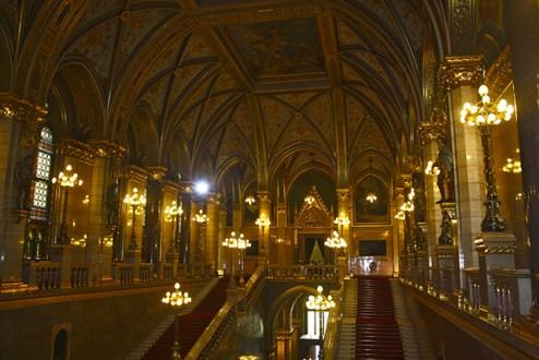 Techos Kossuth Lajos Parlamento Budapest