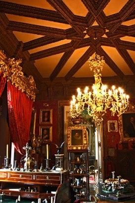 Interior salones Museo Cerralbo Madrid