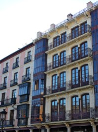 Fachada viviendas Plaza Zocodover Toledo